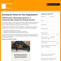 Strategy - Visioning Exercises for Strategic Planning