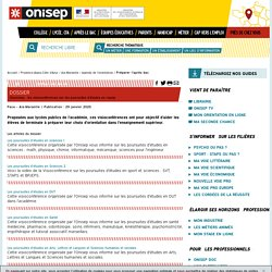 Visionisep : les visioconférences sur les poursuites d'études en replay
