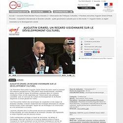 Augustin Girard, un regard visionnaire sur le développement culturel - Université Pierre-Mendès-France Grenoble 2