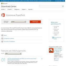 Télécharger Visionneuse PowerPoint depuis le Centre de téléchargement officiel Microsoft - Waterfox