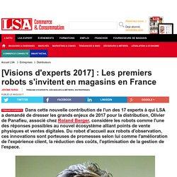 [Visions d'experts 2017] : Les premiers robots...