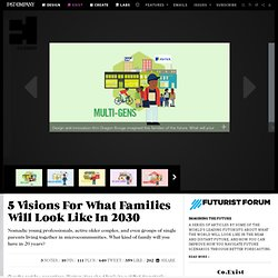 5 Visions For What Families Will Look Like In 2030