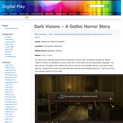 Dark Visions – A Gothic Horror Story