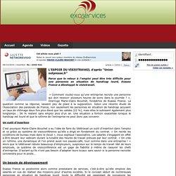 L'ESPOIR DU VISIOTRAVAIL d'après ''Union netpresse.fr''