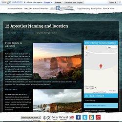 12 Apostles Naming and location