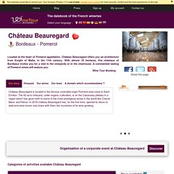 Visit of the Chateau Beauregard