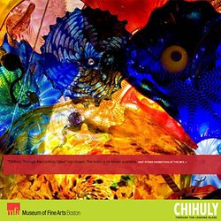 Visit Chihuly: Through the Looking Glass at the MFA