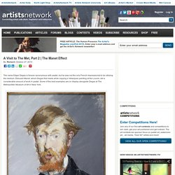 The Manet Effect - Artist's Network