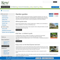 Visit Kew Gardens: Parents' survival guide