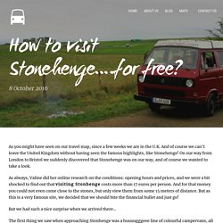 How to visit Stonehenge....for free? Explanation + Map!