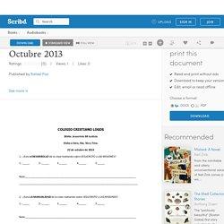 Visita a Basica 10 Octubre 2013