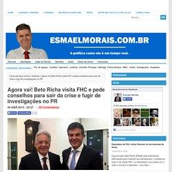 Agora vai! Beto Richa visita FHC e pede conselhos para sair da crise e fugir de investigações no PR