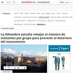 La Alhambra estudia rebajar el número de visitantes por grupo para prevenir el deterioro del monumento