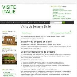 Visite Site romain archéologique Segeste Sicile