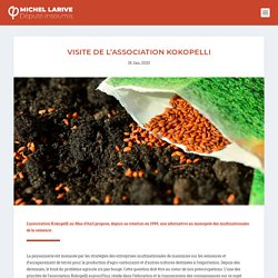 Visite de l'association Kokopelli - Michel Larive