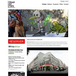 Visite Street Art de Belleville de Street Art Paris