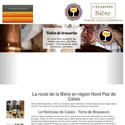 Visite de Brasseries dans le Nord Pas de Calais avec L'Echappée Bière