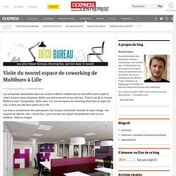 Espace de coworking de Multiburo à Lille