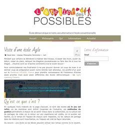 Visite d'une école Agile - L'Atelier des Possibles