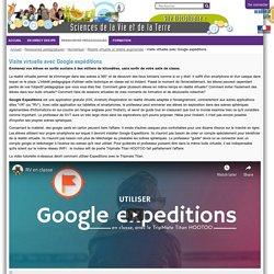 Visite virtuelle avec Google expéditions