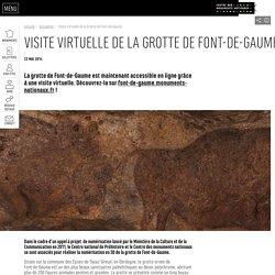 Visite virtuelle de la Grotte de Font-de-Gaume