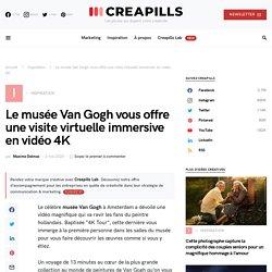 Le musée Van Gogh vous offre une visite virtuelle immersive en vidéo 4K