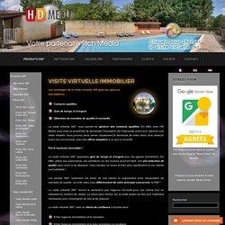 HD Media Visite virtuelle, photo 360, Rich Media - Visite virtuelle Immobilier