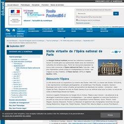 Opéra national de Paris_Visite virtuelle de l'Opéra national de Paris — Enseigner avec le numérique_eduscol