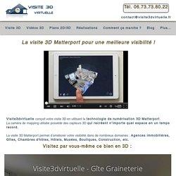 Visite 3D avec la technologie Matterport