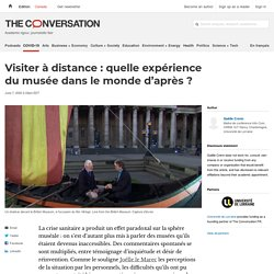 Visite de musée à distance