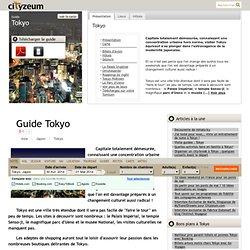 Visiter Tokyo : le guide 2013 des 35 lieux à voir. Gratuit