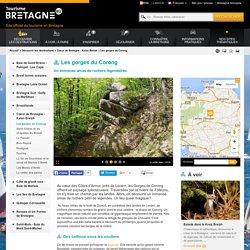 Visiter les gorges du Corong et ses chaos rocheux - Tourisme Bretagne