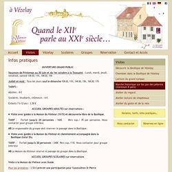 Visiter Vézelay - Infos pratiques
