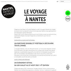 Le Voyage à Nantes - Visites, expositions et évènements à Nantes