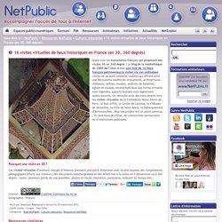16 visites virtuelles de lieux historiques en France (en 3D, 360 degrés)
