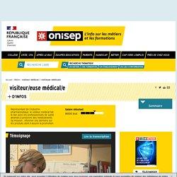 visiteur médical / visiteuse médicale - Onisep