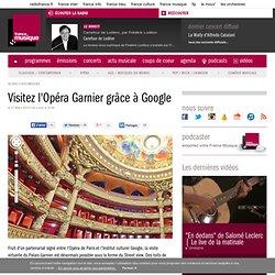 Visitez l'Opéra Garnier grâce à Google - Actu musicale