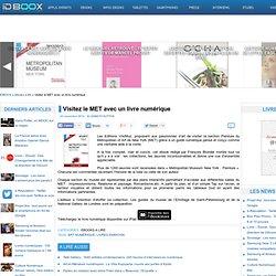 Visitez le MET avec un livre numérique