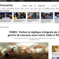 Visitez la réplique intégrale de la grotte de Lascaux avec notre vidéo à 360°