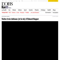 3 tableaux (et la vie) d'Edward Hopper