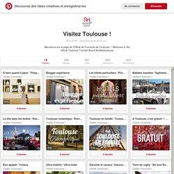 Visitez Toulouse ! sur Pinterest