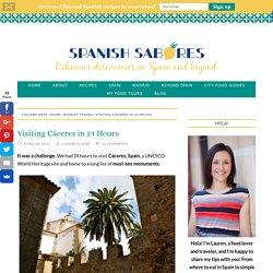 Visiting Cáceres in 24 Hours - An Insider's Spain Travel Blog & Spain Food Blog!