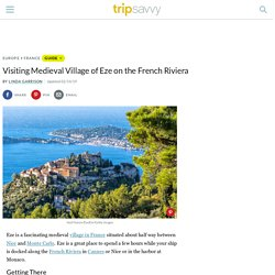 Visiting the Medieval Village of Eze on the French Riviera