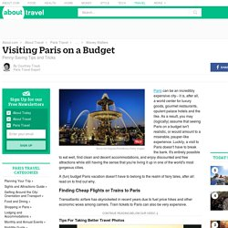 Visiting Paris on a Budget: Tips and Tricks