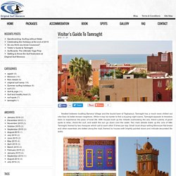 Visitor's Guide to Tamraght - Original Surf Morocco Blog
