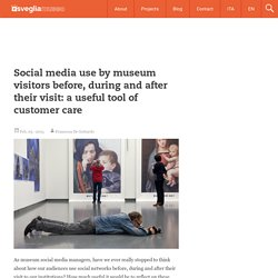 Social media use by museum visitors before, during and after their visit: a useful tool of customer care