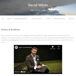 Visitors & Residents – Digital – Learning – Culture