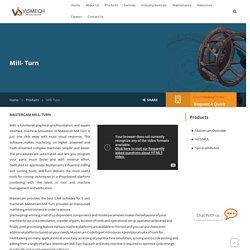 Mill- Turn - Vismech Technologies India Pvt Ltd