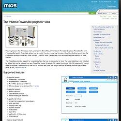 Visonic Powermax Alarm Panel