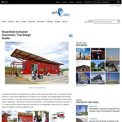 Vissershok Container Classroom / Tsai Design Studio